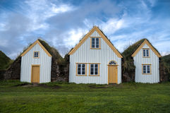 Traditional turf houses Royalty Free Stock Photo