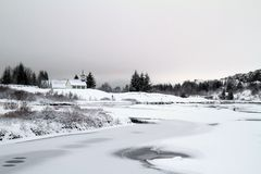 Iceland Travel. A view of the national park Pingvellir, in Southwestern Iceland Stock Images