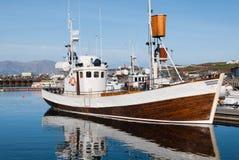Iceland trawler Usavik Stock Image