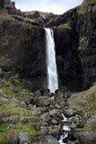 iceland vattenfall arkivbild