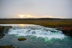 iceland vattenfall royaltyfri foto