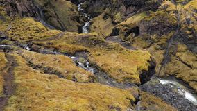 iceland vattenfall arkivfilmer