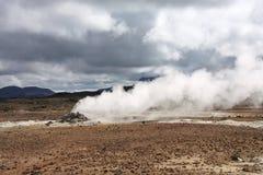 Iceland volcanic area Stock Image