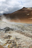 Iceland - volcanic area Royalty Free Stock Photo
