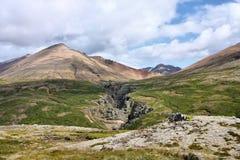 Iceland volcano Stock Image