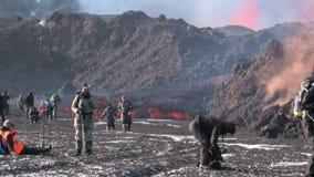 Iceland Volcano stock video