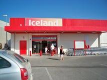 Iceland w Hiszpania Zdjęcia Royalty Free