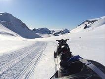 Iceland w zimie Fotografia Royalty Free