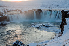 Iceland waterfall Royalty Free Stock Photos