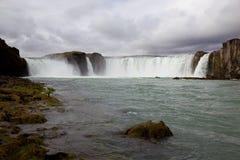 Iceland waterfall Godafoss Stock Photography