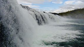 Iceland, waterfall, near by Golden circle stock images
