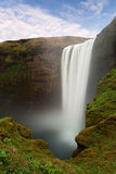 Iceland waterfall - Skogafoss Stock Photo