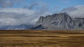 Iceland widok górski obrazy royalty free