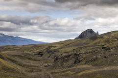 Iceland wild landscape Royalty Free Stock Images