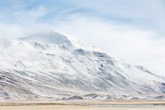Iceland Winter landscape Royalty Free Stock Photos