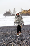 Iceland Woman stock images