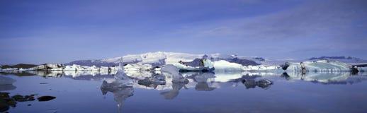 Iceland2 panorâmico Fotos de Stock Royalty Free