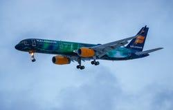 Icelandair Боинг 757-200 Стоковое фото RF
