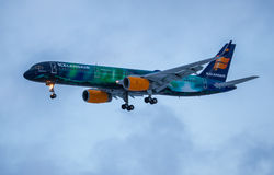 Icelandair Boeing 757-200 Royalty-vrije Stock Foto