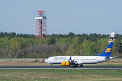 Free Icelandair Boeing 737 Max 8 At Berlin Tegel Airport Royalty Free Stock Photography - 117805487
