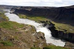 icelandic водопад стоковая фотография rf