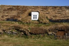 icelandic дома Стоковое фото RF