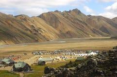 icelandic ландшафт Стоковые Фотографии RF