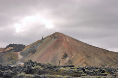 icelandic ландшафт Стоковое Фото