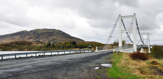 Icelandic bridge Royalty Free Stock Photos