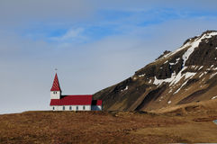 Icelandic church Stock Image