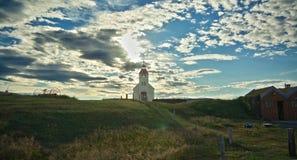 Icelandic church Royalty Free Stock Image