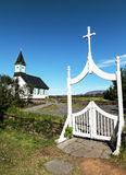 Icelandic church Royalty Free Stock Images