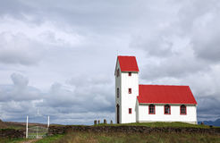 Icelandic church Royalty Free Stock Photo