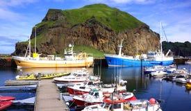 Iceland Marina Stock Photo