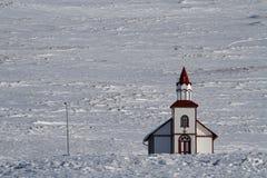 An icelandic church Royalty Free Stock Image