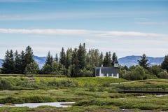 Icelandic Church Stock Photography