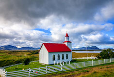 Icelandic church Royalty Free Stock Image