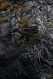 Icelandic cliff Royalty Free Stock Image