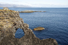Icelandic cliffs Stock Photography