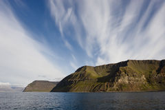 Icelandic coast Stock Images