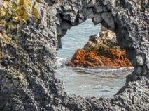 Icelandic coast Stock Image