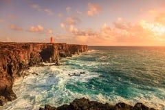 Icelandic coast Royalty Free Stock Images