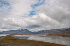 Icelandic countryside landscape in Hornafjordur Iceland Stock Photography