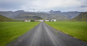 Icelandic countryside Stock Photography