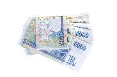 Icelandic currency Royalty Free Stock Images