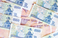 Icelandic currency Royalty Free Stock Photo