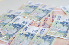 Icelandic currency Stock Photography