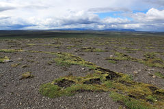Icelandic desert Stock Image