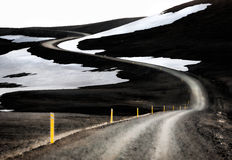Icelandic F-Road Royalty Free Stock Photo