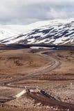 Icelandic F-Road (mountain road) Royalty Free Stock Photos